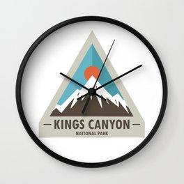 Kings Canyon National Park Wall Clock