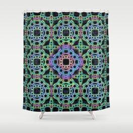 Crochet Pattern Shower Curtain