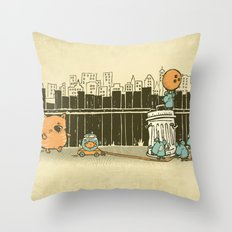 El plan Throw Pillow