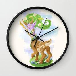 Chibi Lunara  Wall Clock
