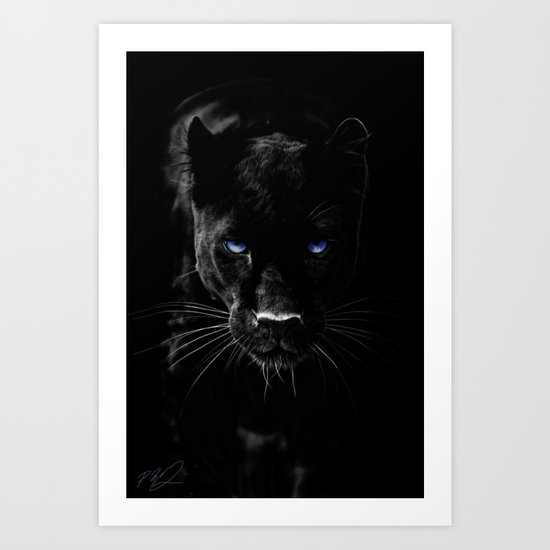 BLACK PANTHER by therealpaparaw