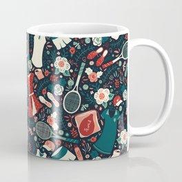 Tennis Style Coffee Mug