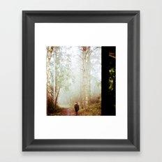 Forest  Lomography Framed Art Print