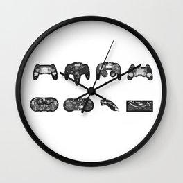 Joystick x-ray Wall Clock