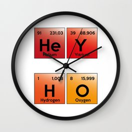 Hey ho Wall Clock