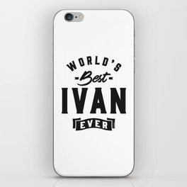 World's Best Ivan iPhone Skin