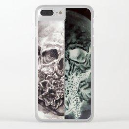 Positive/Negative Clear iPhone Case