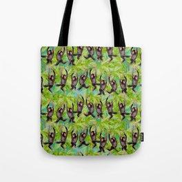 monkey line Tote Bag