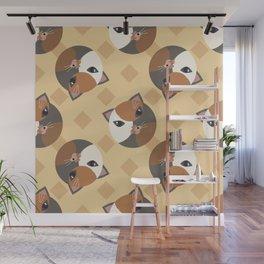 Lady cat Wall Mural