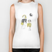 shopping Biker Tanks featuring shopping by Josephine Walz