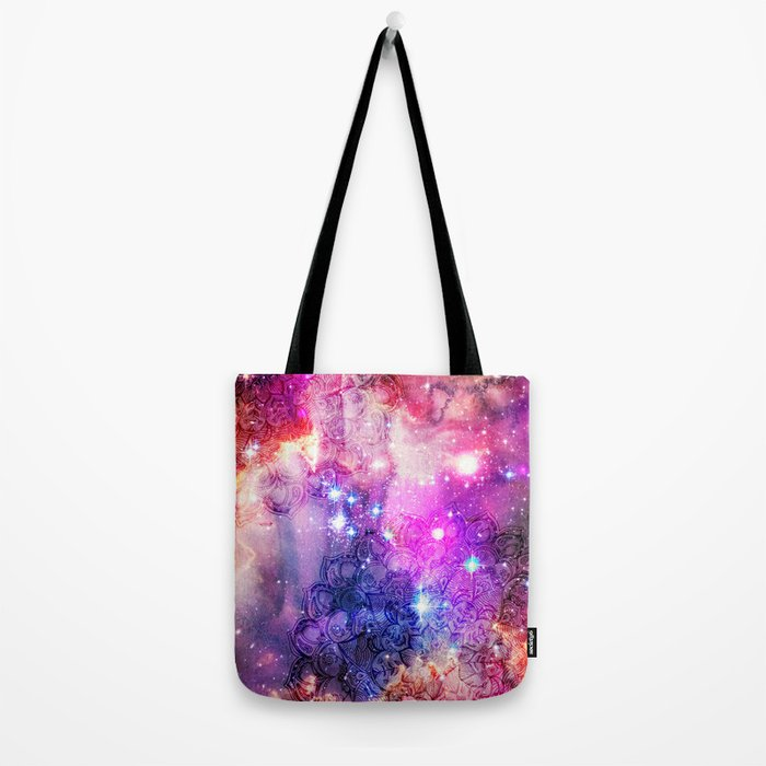 Doodles in Deep Space Tote Bag
