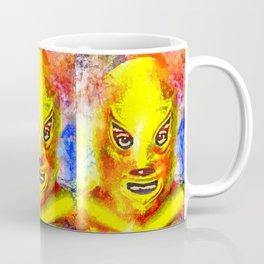 Mexican Wrestling Coffee Mug