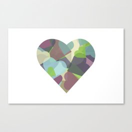 HEARTFUL Canvas Print