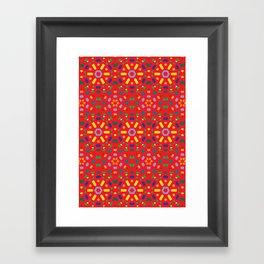 Kaleidoscope Number 1 Framed Art Print