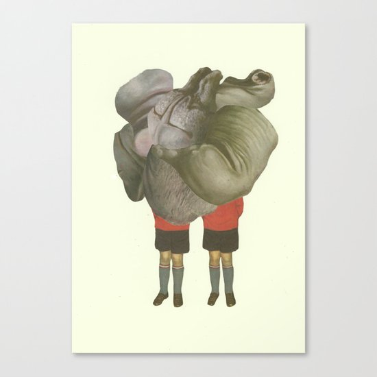 MEUS GEMINUS Canvas Print