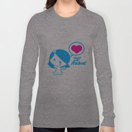 Free and Naked Long Sleeve T-shirt