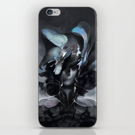The Carrion Widow from Below the Cliffs iPhone Skin