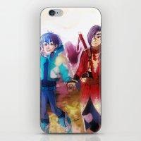 dmmd iPhone & iPod Skins featuring dmmd beach by Mottinthepot