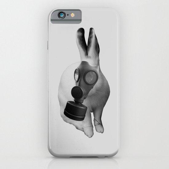 gas mask rabbit iPhone & iPod Case