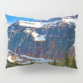 Mt. Edith Cavell in Jasper National Park, Canada Pillow Sham