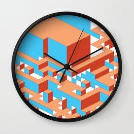 Canyon Clay Wall Clock