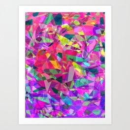 Fractal Heart Art Print