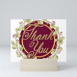 Say Thank You Mini Art Print