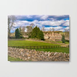 Manor House Metal Print