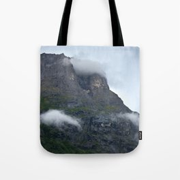 cloudy day in norway Tote Bag