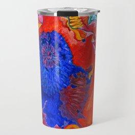 Japanese Poppy No.9 Travel Mug