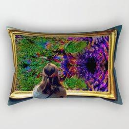 Admiring the Admirer Rectangular Pillow