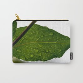 Wet leaf Carry-All Pouch