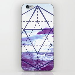 The Elements Geometric Nature Element of Water iPhone Skin
