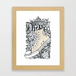 SHOES--DESIGN Framed Art Print