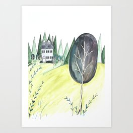 Little House Art Print