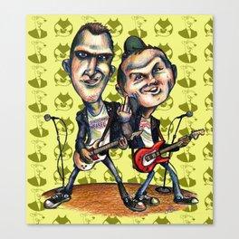 Ben Weasel & Joe Queer Canvas Print