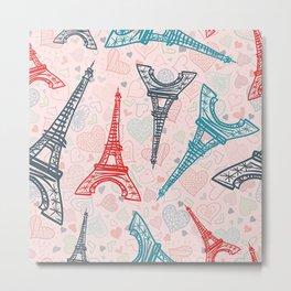 Paris Eifel Tower - Eiffel Tower Paris - France Paris - Eiffel Tower Souvenir Gift Metal Print