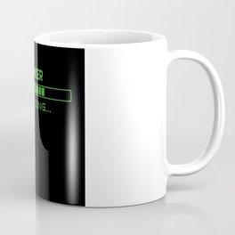 Banker Loading Coffee Mug