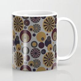 Circle Frenzy - Grey Coffee Mug