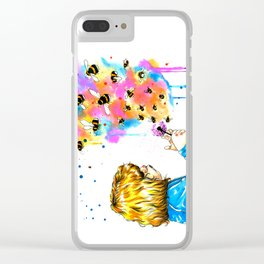 bumblebees Clear iPhone Case