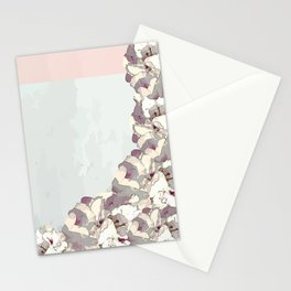 Orchid waterfall Stationery Cards