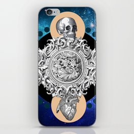 THE UNCERTAINITY OF THE TIME iPhone Skin