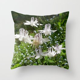 The Doves (Columbine) Throw Pillow