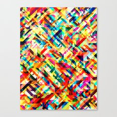 Summertime Geometric Canvas Print