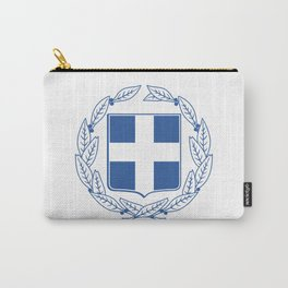 Coast of arms of Greece Carry-All Pouch
