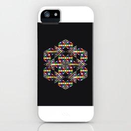 """Integration"" Detail Circle iPhone Case"