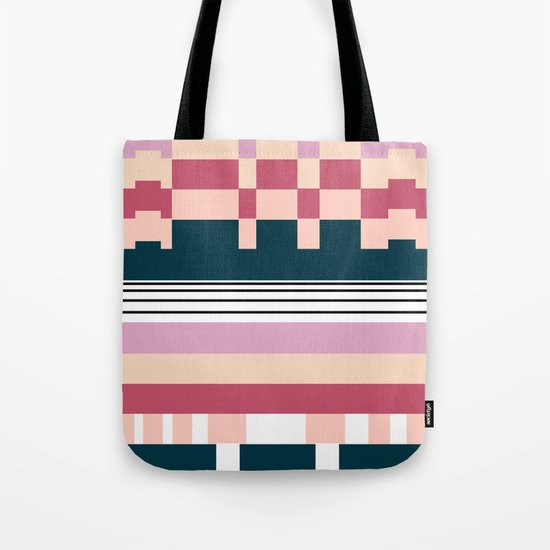 Raspberry Parfait Tote Bag