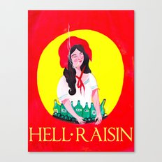 HELL RAISIN Canvas Print