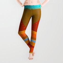 Textures/Abstract 143 o.c. Leggings