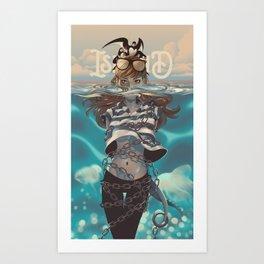 ISLAND-JONAH Art Print
